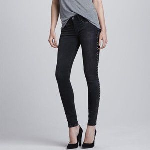 Blank NYC Side Studded Skinny Jeans